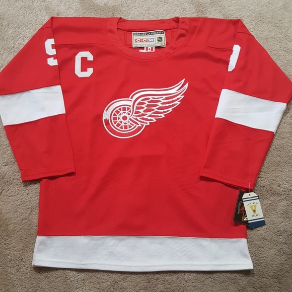 half off ef241 5f64a Gordie Howe Detroit Red Wings Jersey New NWT